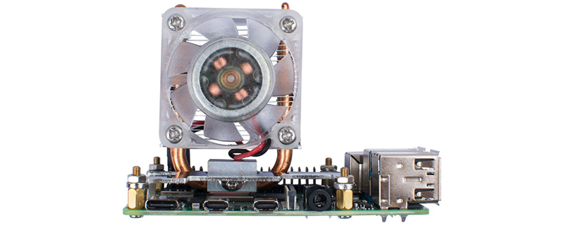 This tower heatsink promises a 40-degree drop in Raspberry