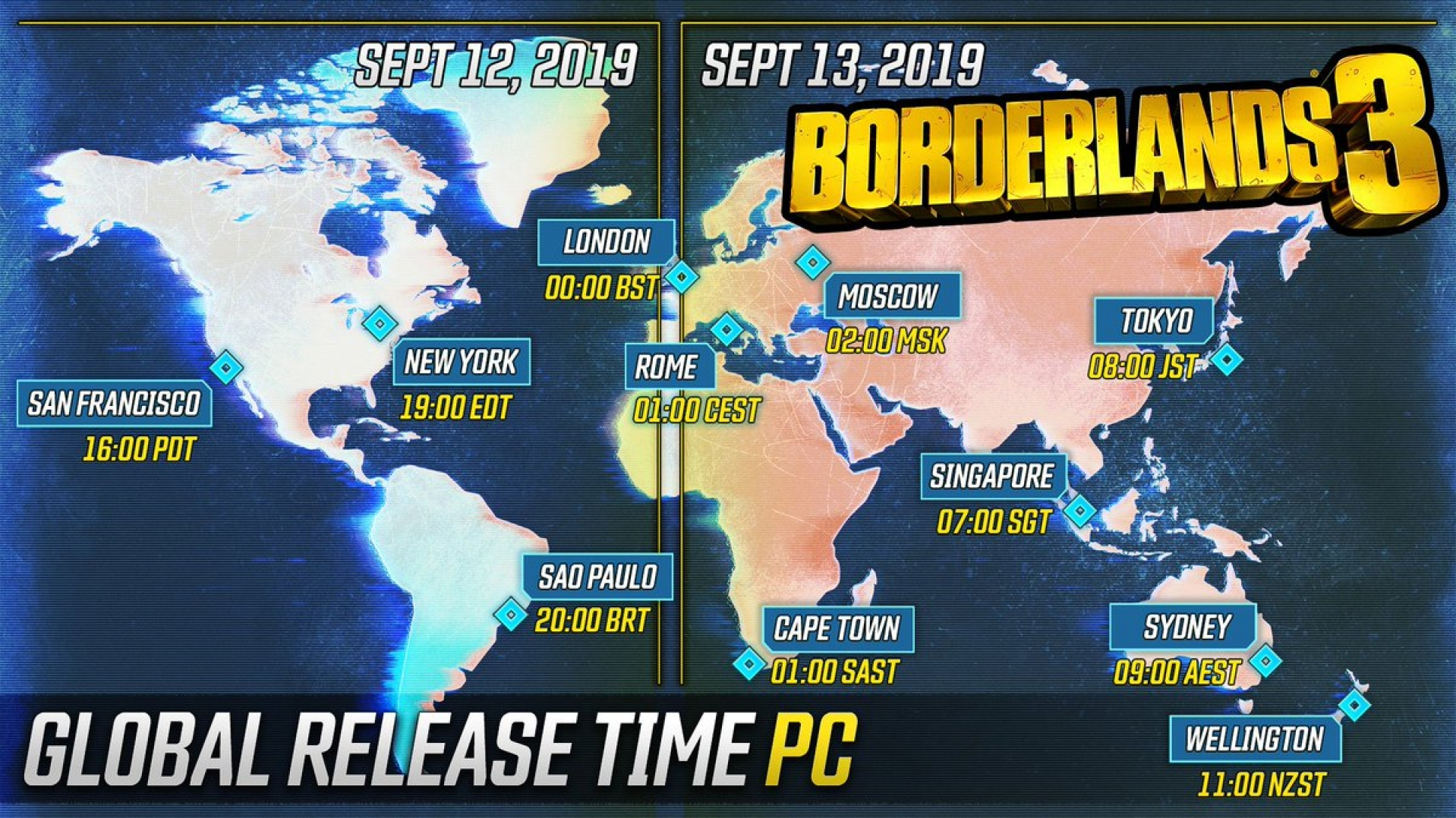 Borderlands 3 will be pre-loadable on the Epic Games Store