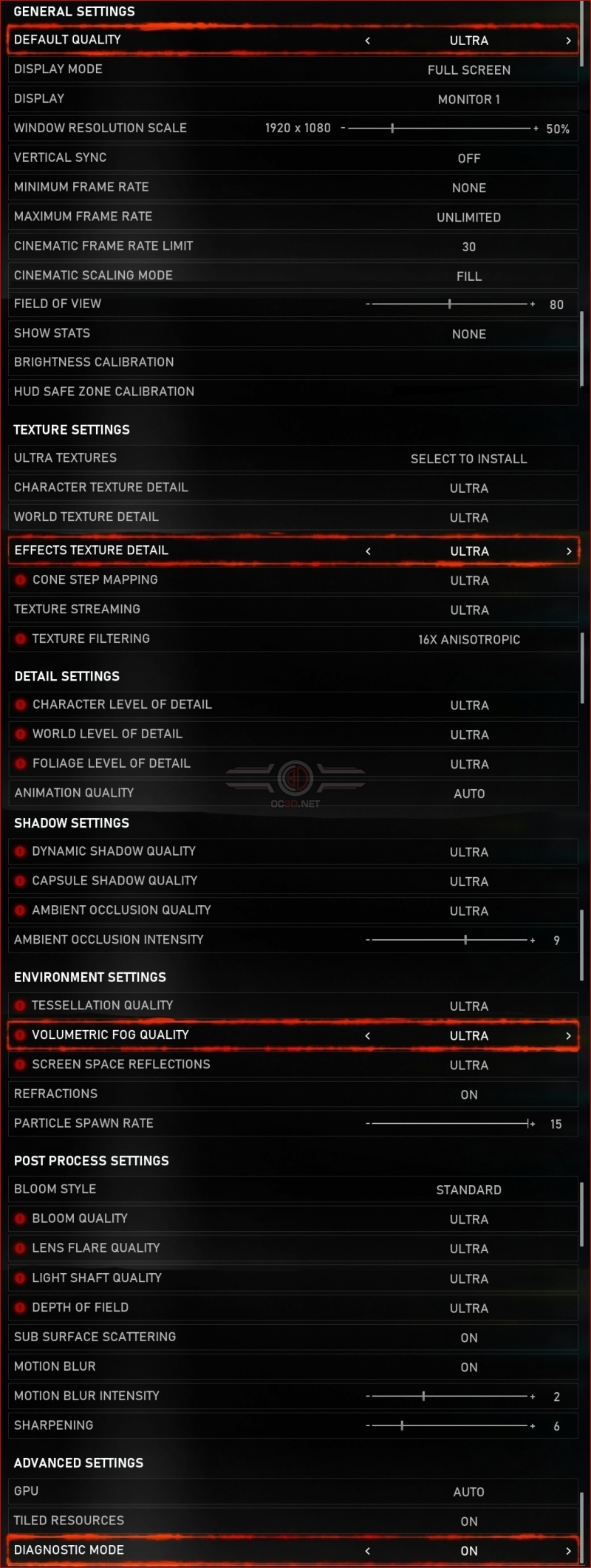Gears 5 PC Performance Review & Optimisation Guide | PC