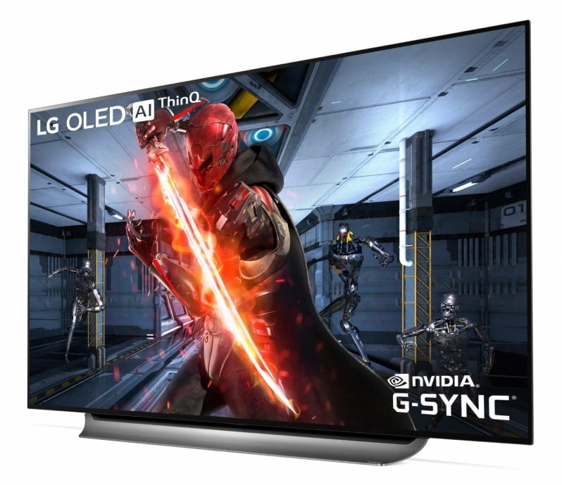 LG reveals the world's first G-Sync Compatible OLED TVs