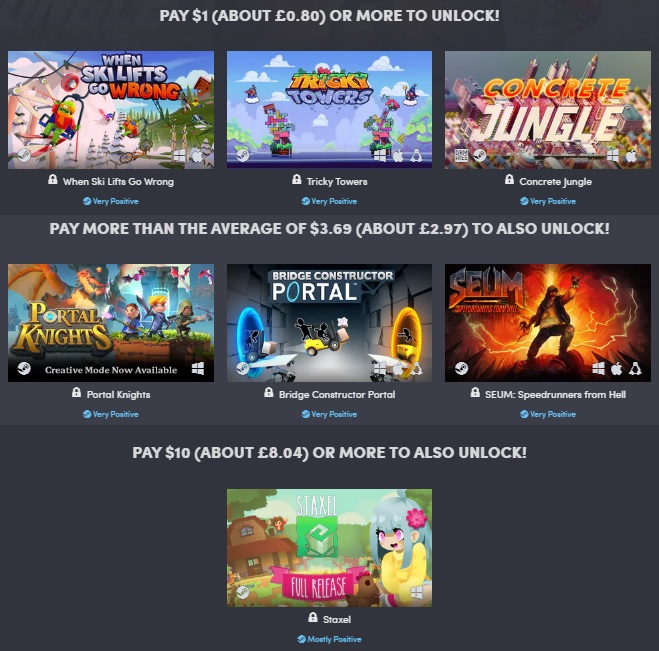 Humble S Builders Game Bundle Is Now Live Oc3d News 10 x humble camos + humble flag. builders game bundle is now live