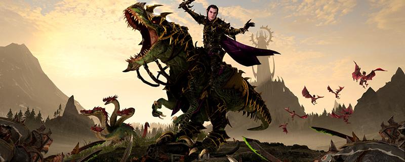 Deathmaster Snikch and Malus Darkblade with Total War: Warhammer's next DLC