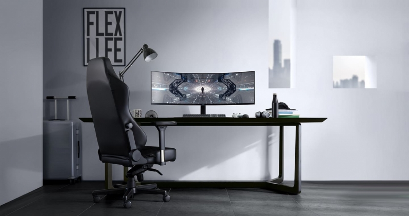 Samsung's Odyssey G9 Curved display is a 49-inch 240Hz monster