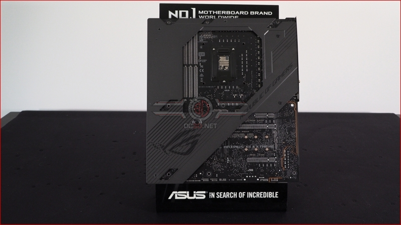 ASUS Z490 Maximus XII Extreme Backplate