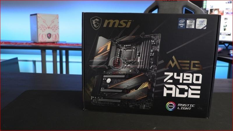 Xem trước MSI MEG Z490 Ace