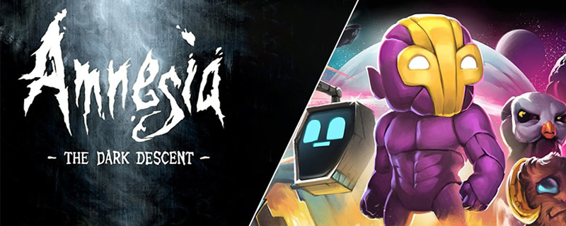 Amnesia The Dark Descent and Crashlands are currently ...
