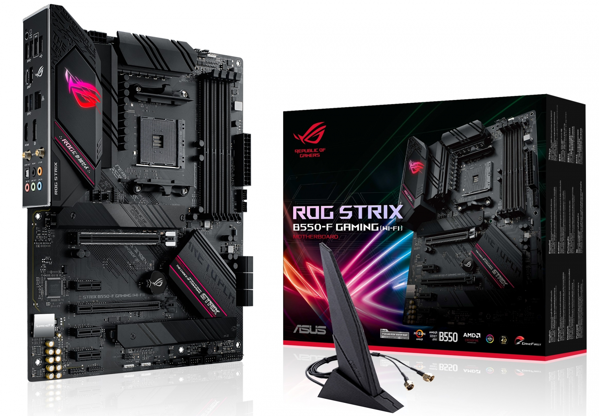 ASUS launches its range of AMD B550 motherboards - B550 has ...