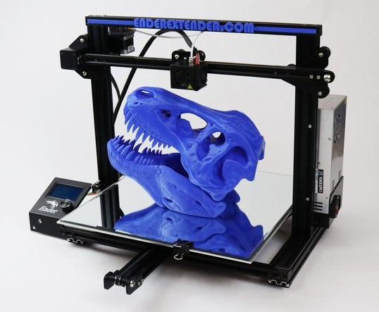 Make your Ender 3 3D Printer bigger and better with these Ender Xtender upgrade kits