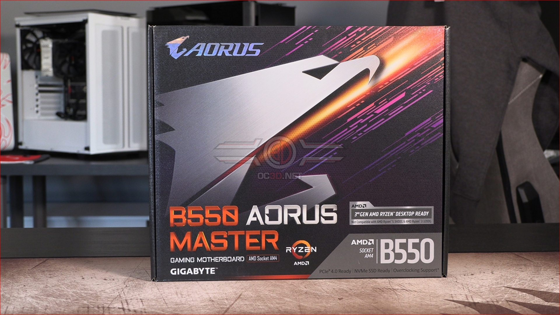 Gigabyte B550 Aorus Master Review Packaging And Accessories Cpu Mainboard Oc3d Review