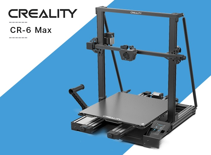 Creality goes LARGE as its CR-6 Max 3D Printer hits Kickstarter