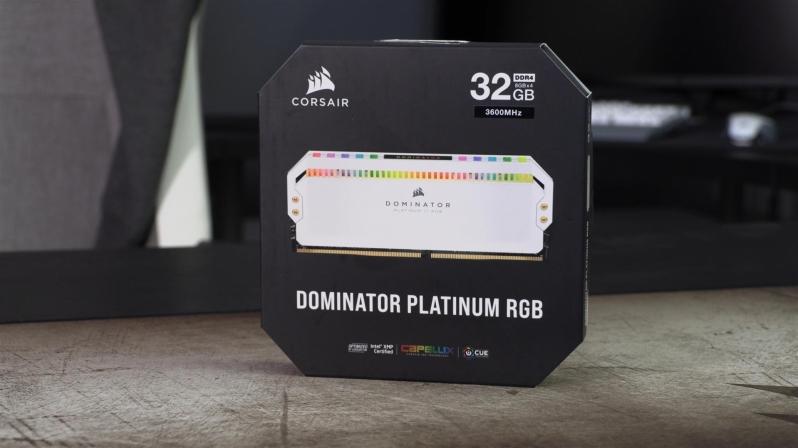 Corsair launches white Dominator Platinum RGB series DDR4 memory kits