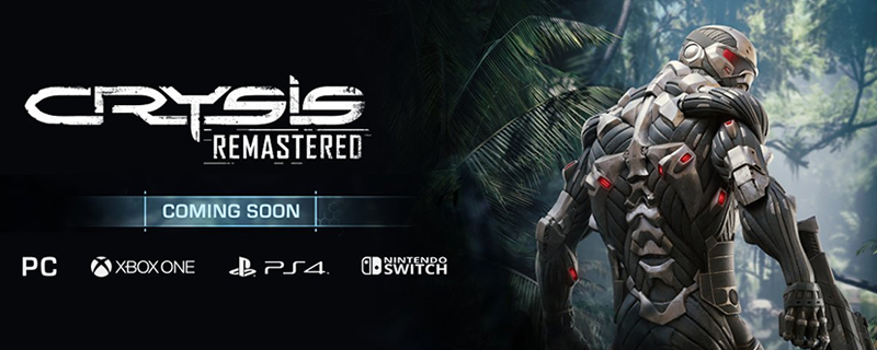 Crysis Remastered will be releasing on Switch this month