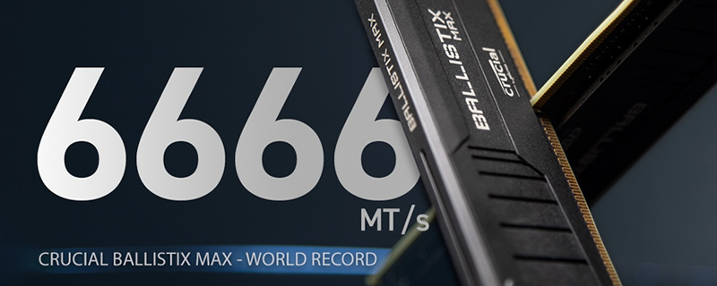 ASUS' ROG Overclocking Team Achieves Record 6666MHz DDR4 Speeds