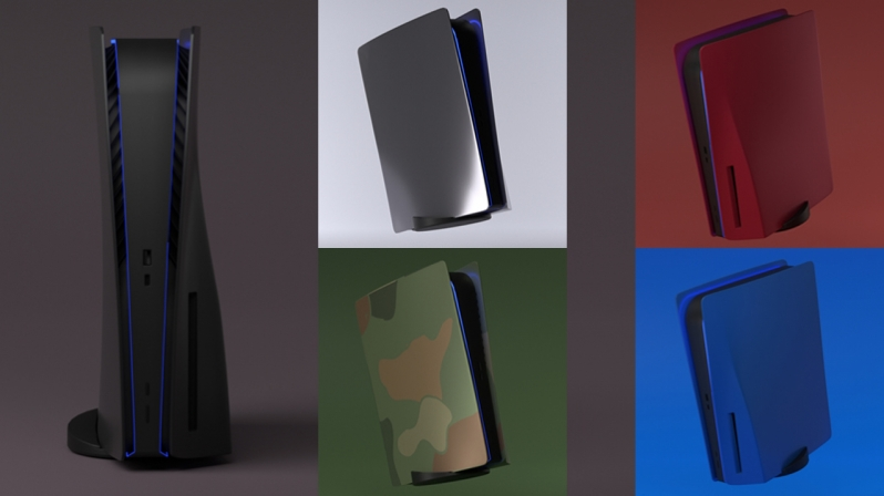 Custom PlayStation 5 Face Plates are In Production