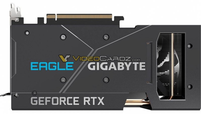 Geforce RTX 3060 Ti Eagle pictured