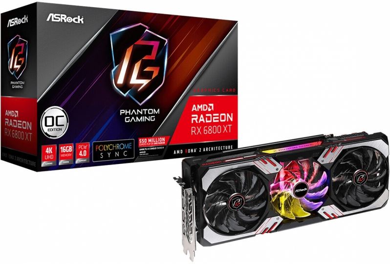 ASRock reveals four custom Radeon RX 6800 series GPUs