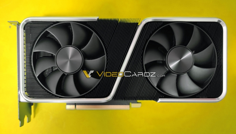 Nvidia's RTX 3060 Ti Founders Edition has been pictured