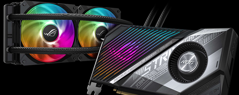ASUS ROG Strix RX 6800 XT LC Preview