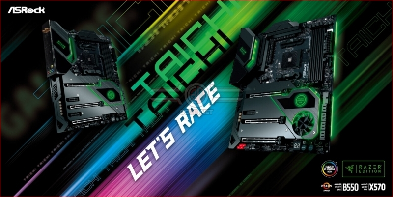 ASRock launches X570 and B550 Taichi Razor Edition Motherboards