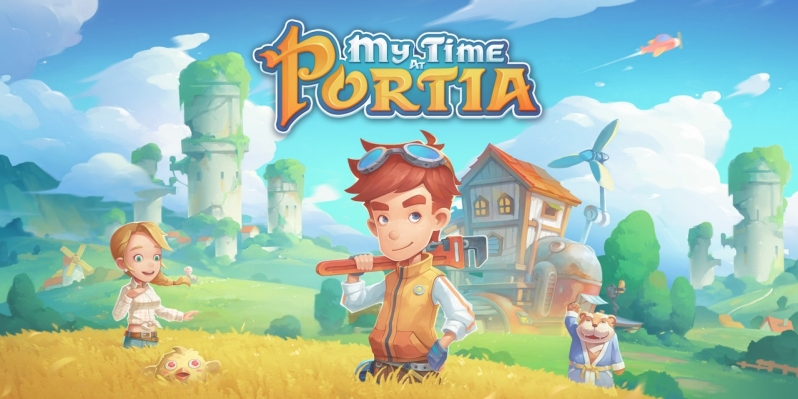 My Time at Portia is available for free on the Epic Games Store today