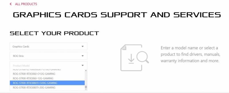 ASUS accidentally confirms Nvidia's 20GB RTX 3080 Ti