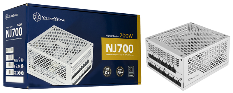 SilverStone reveals their NJ700 80+ Titanium 700W Passive Power Supply