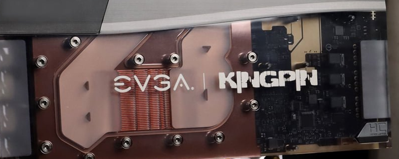 EVGA reveals their RTX 3090 KINGPIN Hydro Copper - A Single Slot Liquid Cooled Monster