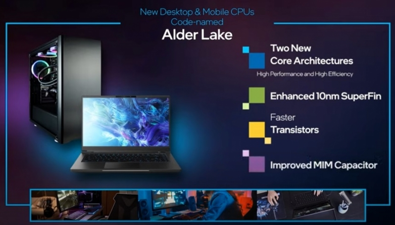 Intel demos Alder Lake at CES 2021 - A 10nm Hybrid Architecture that's coming this year