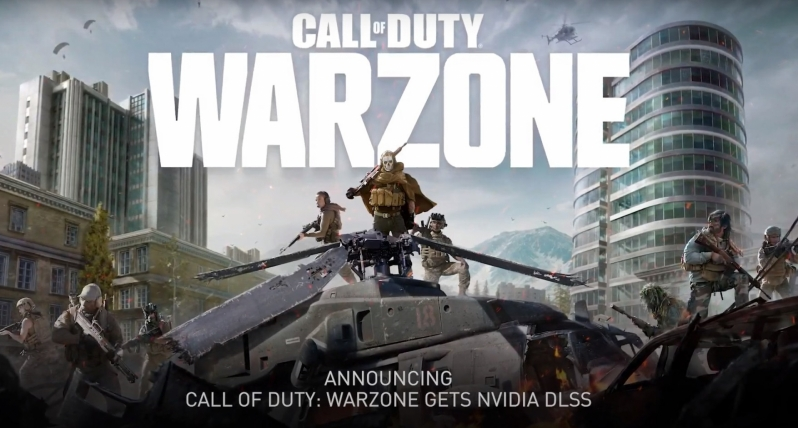 Call of Duty: Warzone will soon support Nvidia's DLSS technology