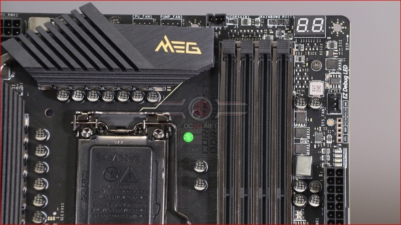 MSI Z590 Gaming Carbon and MEG Ace Preview