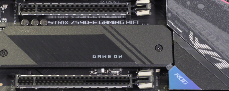 ASUS ROG Strix Z590-E Gaming WiFi Preview