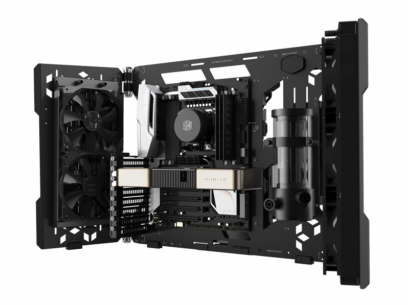 Cooler Master launches their MasterFrame 700 open-air frame PC chassis