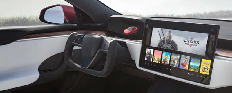 Tesla's upcoming Model S features a 10 TFLOPs Gaming Rig -