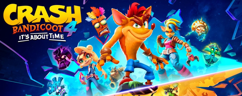 Crash Bandicoot 4: It's about time is coming to PC, Switch and next-gen consoles next month