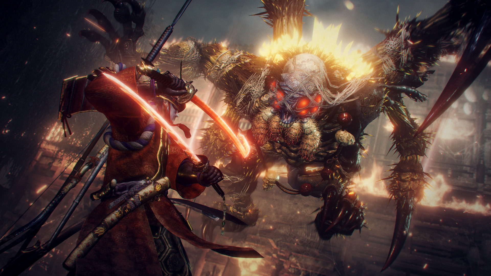 Nvidia's DLSS tech has been added to Nioh 2's PC version