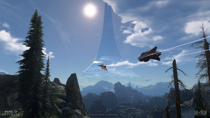 343 Industries showcases Halo Infinite's PC visuals