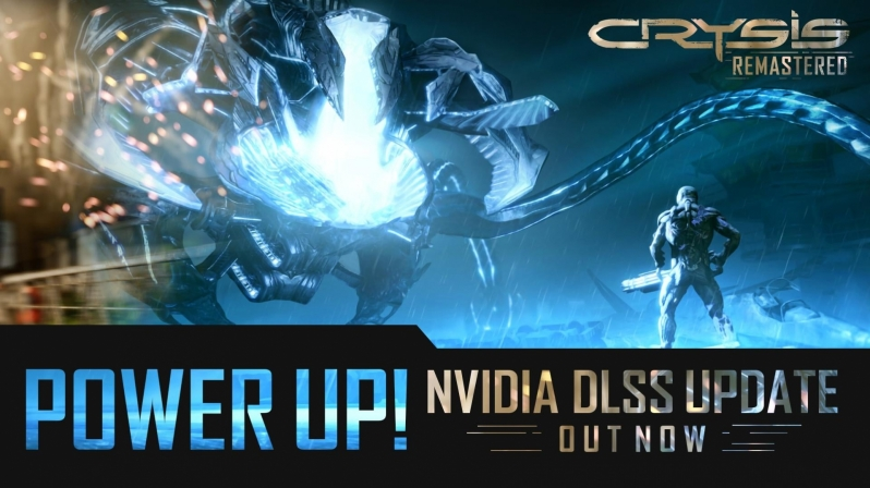 Crysis Remastered's latest update delivers Nvidia's DLSS technology to the game