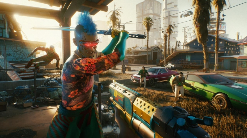 CD Projekt Red's Patch 1.2 change notes for Cyberpunk 2077 have been release