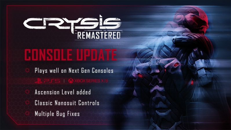 Crysis Remastered has been updated for PlayStation 5 and Xbox Series Consoles