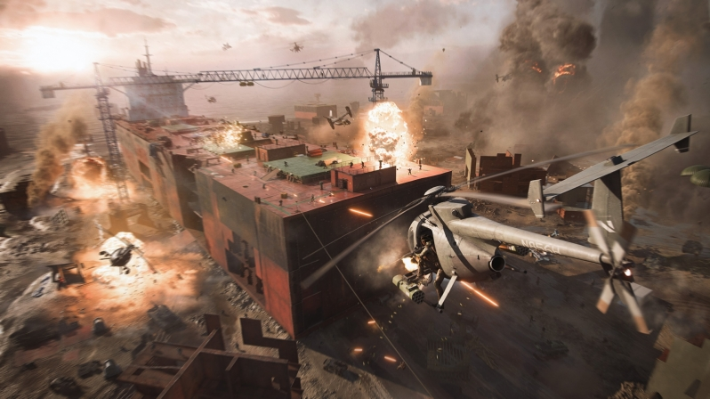 Battlefield 2042 is coming to PC this year October