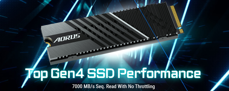 Gigabyte confirms that its AORUS Gen4 7000s SSD is