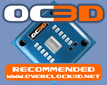OC3D Recommended Award
